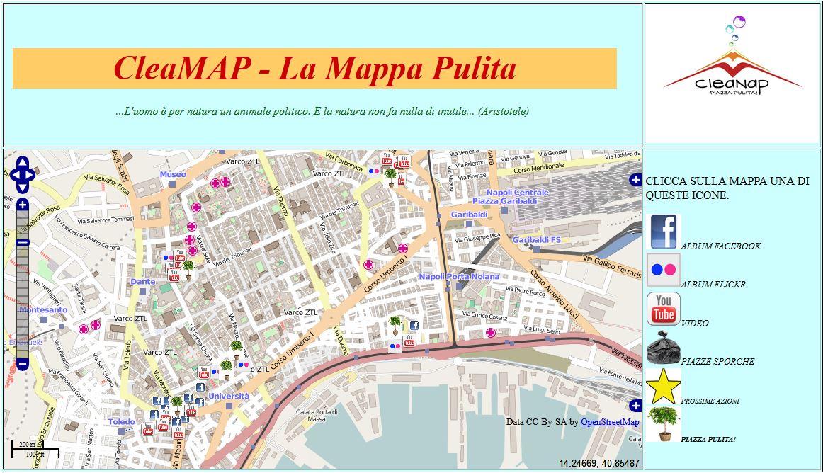 mappa cleamap